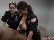 Amateur milf interracial blowjob Milf Cops