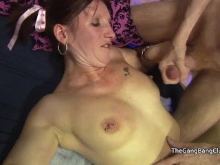 Amateur cum and facial compilation from a sex club