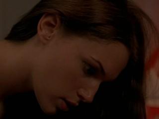 Amanda Righetti nude in Angel Blade