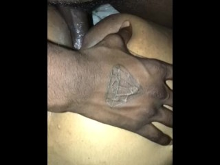 Light Skin Taking Black Cock!!