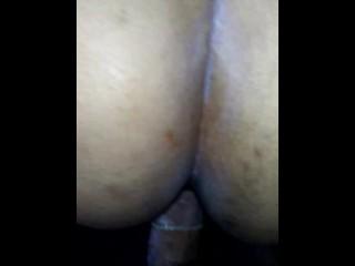 BBW taken in the ass