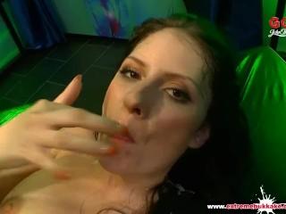Brunette Babe Rebecca Volpetti Sexy Cum Doll - Extreme Bukkake