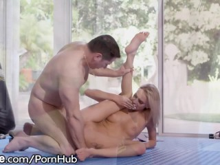Young Emma Hix Offers Master Some Sweaty Pussy