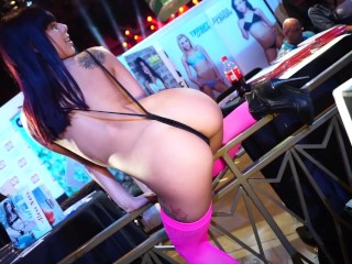 18y Gina Valentina Did What at AVN? Interview and Dance Preview