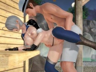 Angel The King of Fighters KOF Hentai 3D