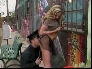 Police officer caught naughty Briana