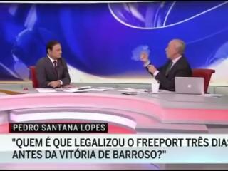 Interview Pedro Santana Lopes, Homossexual Prime Minister Jose Socrates