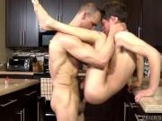 ExtraBigDicks Hung Daddy Hits on Son's Twinky Friend!
