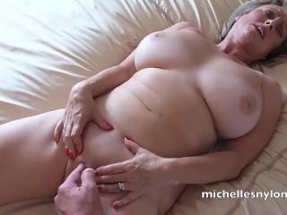 British Mature Michelle Sucks Dick And Gets Cummed On