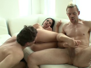 Kristina Rose Double Penetration (Loose in the Caboose) HD