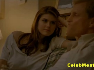 Cute Alexandra Daddario Naked Celebrity Juicy Tits And Exposed Cunt