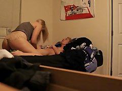 sexy horny college student gf wants her lucky bf to fuck her hard on camera