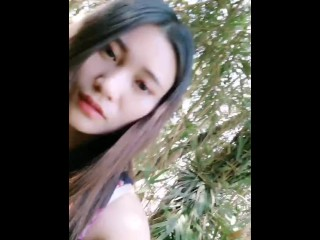 Chinese Cam Girl 刘婷 LiuTing - Morning Run