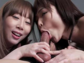 Blowjob Club Aya Kisaki & Shino Aoi 152
