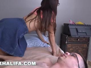 MIA KHALIFA - Nerdy Fan Loses His Virginity To His Favorite Pornstar