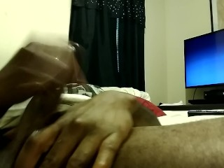 (Masturbation) Talking dirty while watching a bbw milf play in her pussy