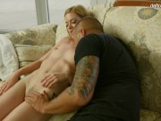 The virgin shows her hymen to the guy. He licks it and fucks it! OMG..