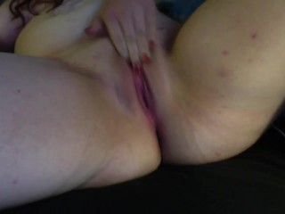 Pink Teen Pussy Up Close