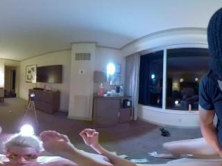 "VR PoundPie3 - Rough DP With 11"" Cocks - HD Virtual Reality Porn"