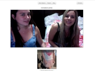 2 Pretty Omegle Girls Laugh At My Little Sissy Penis