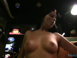 PublicAgent Czech Barmaid Fucks Wildly with Stranger for Money