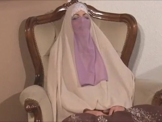 Three hot romanian white hijab fucked