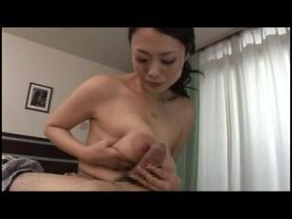 Nachi Kurosawa Blowjob And Titfuck