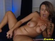 Hot Milf Gives Herself Sensual Pleasure