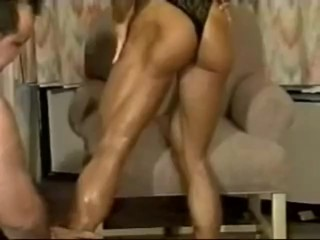 old school muscle legs Denise Rutkowski