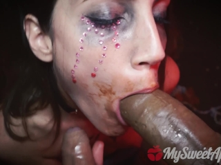 Halloween Spirit Clones My Cock with Chocolate and Eats Both - MySweetApple