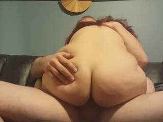 The Beatiful Baby Doll Deepthroats My Cock And Rides It Hard On The Couch