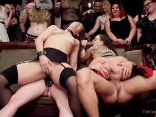 Horny Whores Holiday Orgy