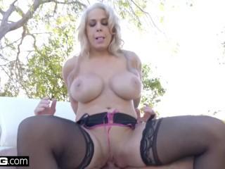 Gonzo - Alyssa Lynn big tits pawg gets fucked raw