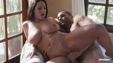 Big titty milf Angela White hammered in doggystyle