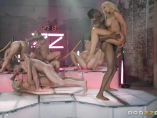 Brazzers House 3 Finale - Bridgette B, Gina Valentina, Karma Rx, Lela Star