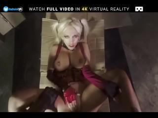 BaDoink VR Busty Milf Blondie Fesser Penetrated By Hard Dick