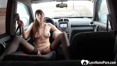 I like to masturbate in my car