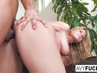 Busty Avy Scott gets fucked by her boy toy Keni Styles