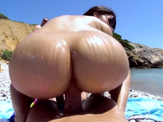 Valentina Nappi Gets Fucked On The Beach