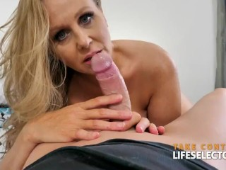 Julia Ann loves the taste of your cock POV