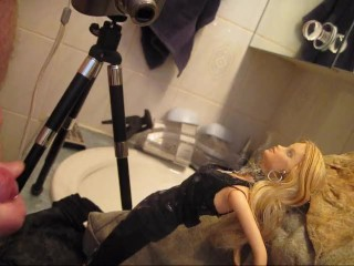 "BBB preview: Ava Vincent ""Little Black Dress in WC pop""cum only WMVslomo"