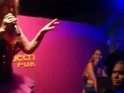 Rita Cadillac em show sensual